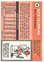 1970-71 Topps #90 Nate Thurmond back image