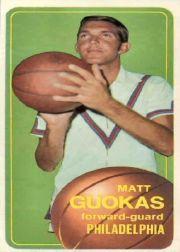 1970-71 Topps #124 Matt Guokas RC
