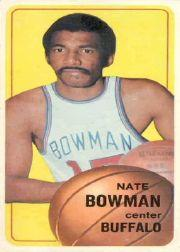 1970-71 Topps #138 Nate Bowman