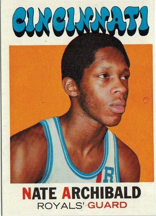1971-72 Topps #29 Nate Archibald RC