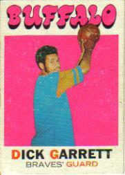 1971-72 Topps #67 Dick Garrett