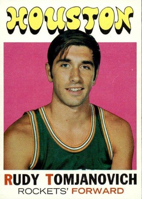 1971-72 Topps #91 Rudy Tomjanovich RC