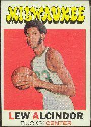 1971-72 Topps #100 Lew Alcindor