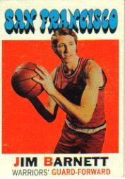 1971-72 Topps #104 Jim Barnett