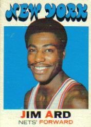 1971-72 Topps #191 Jim Ard