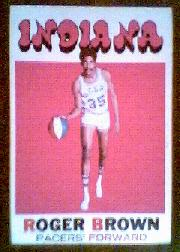 1971-72 Topps #225 Roger Brown RC