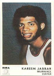 1972-73 Icee Bear #1 Kareem Abdul-Jabbar