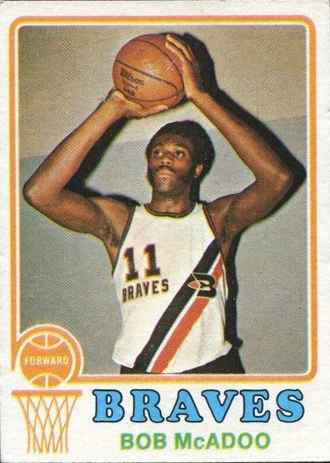 1973-74 Topps #135 Bob McAdoo RC