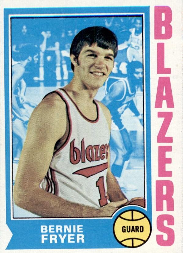 1974-75 Topps #3 Bernie Fryer RC
