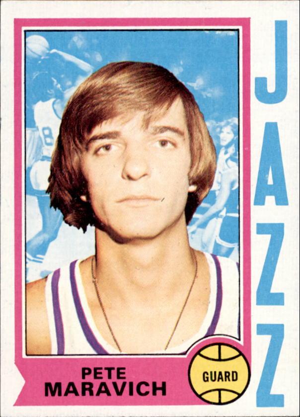 1974-75 Topps #10 Pete Maravich