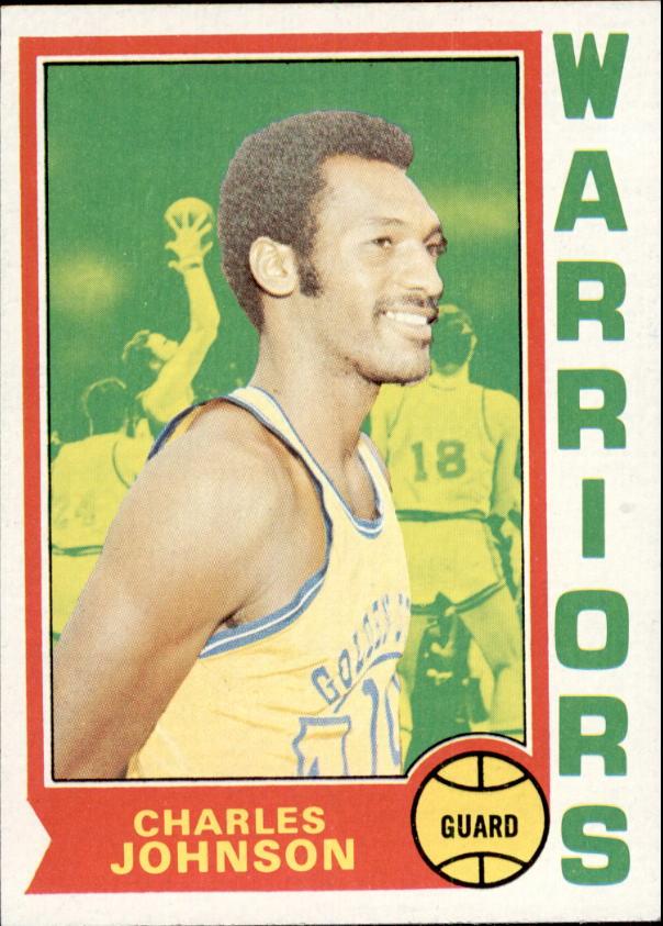 1974-75 Topps #14 Charles Johnson RC