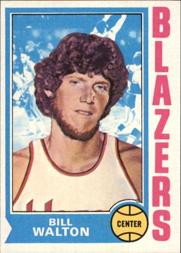 1974-75 Topps #39 Bill Walton RC
