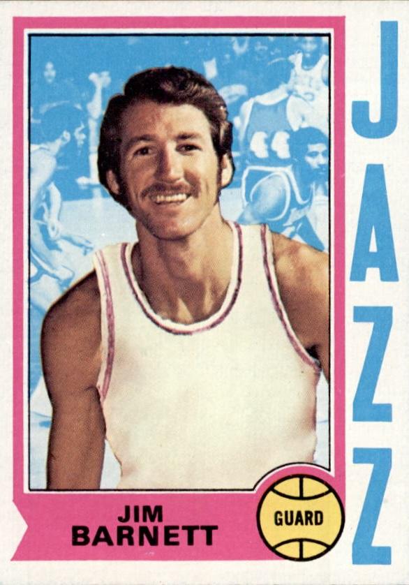 1974-75 Topps #47 Jim Barnett