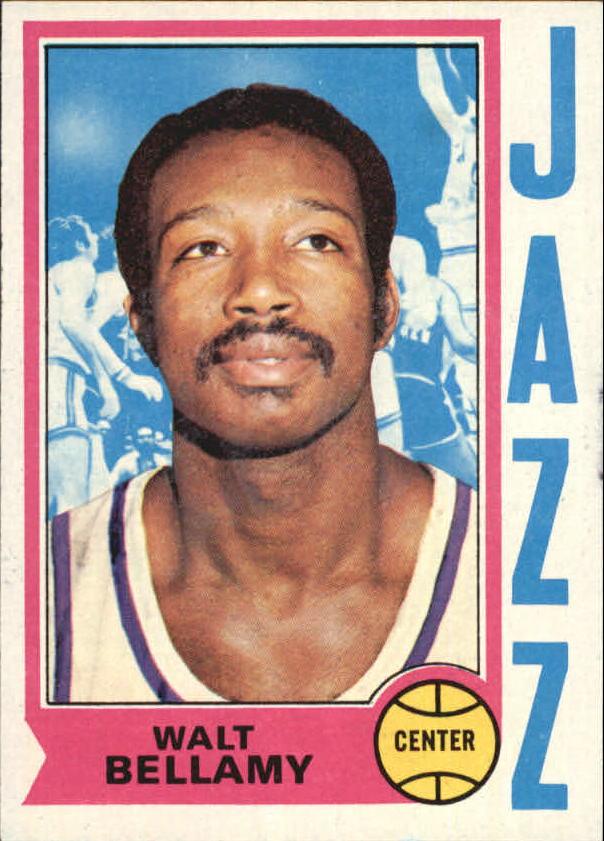 1974-75 Topps #65 Walt Bellamy