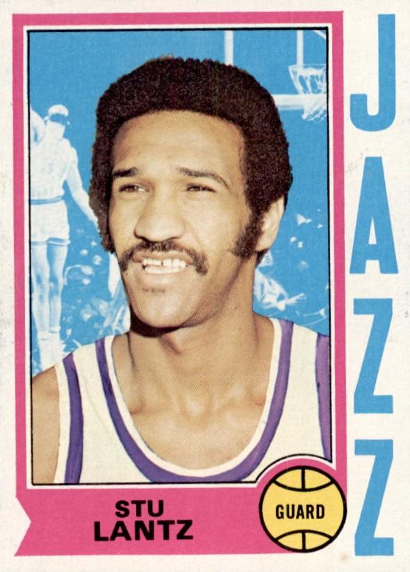 1974-75 Topps #101 Stu Lantz