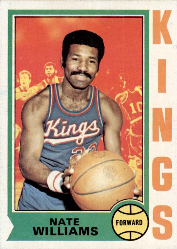 1974-75 Topps #116 Nate Williams