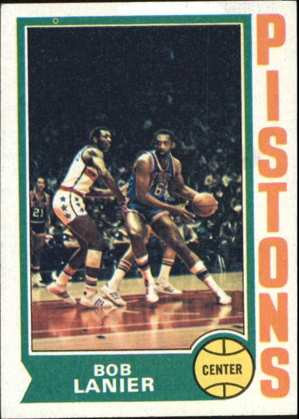 1974-75 Topps #131 Bob Lanier