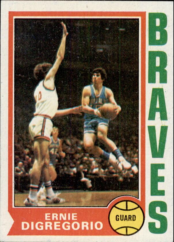 1974-75 Topps #135 Ernie DiGregorio RC