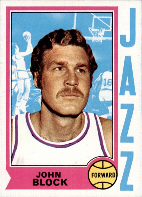 1974-75 Topps #168 John Block