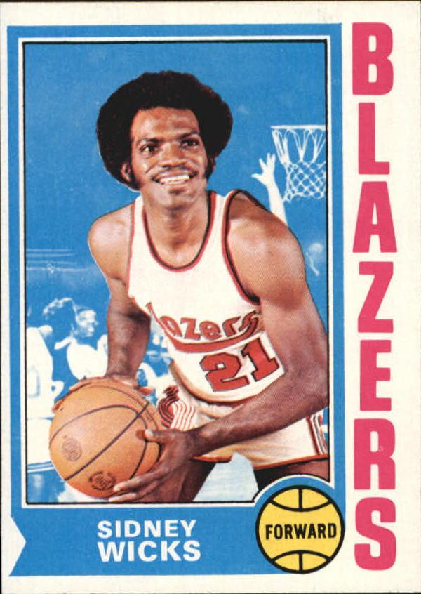 1974-75 Topps #175 Sidney Wicks