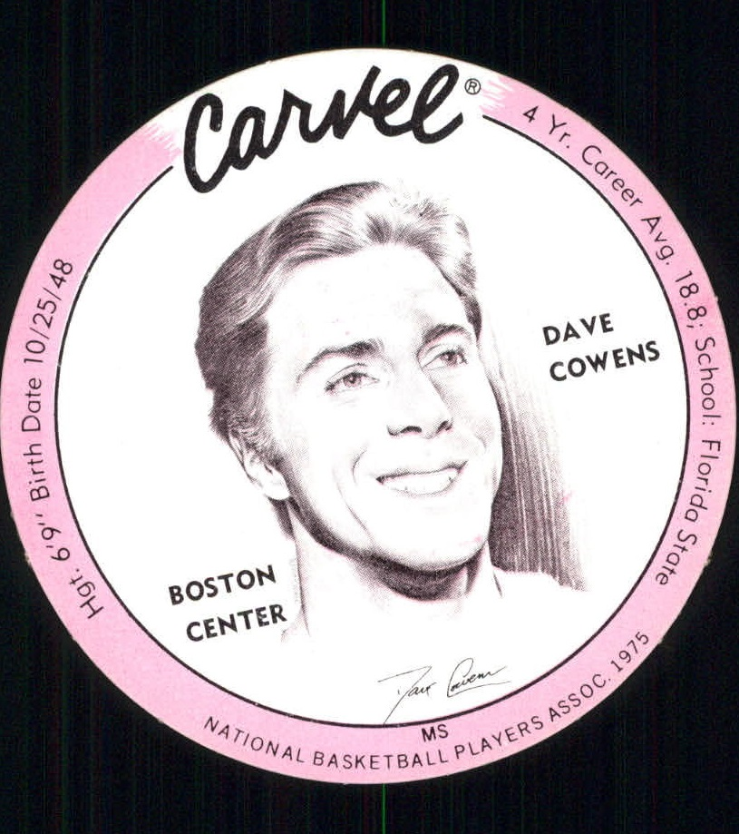 1975 Carvel Discs #5 Dave Cowens