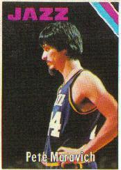 1975-76 Topps #75 Pete Maravich DP