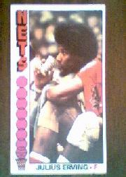 1976-77 Topps #1 Julius Erving !