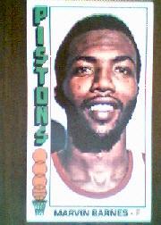 1976-77 Topps #35 Marvin Barnes