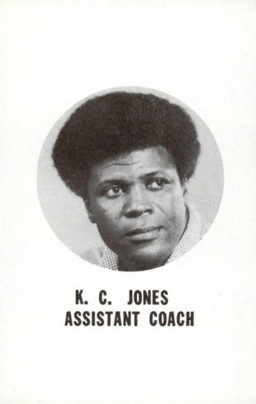 1976-77 Bucks Playing Cards #NNO K.C. Jones ACO