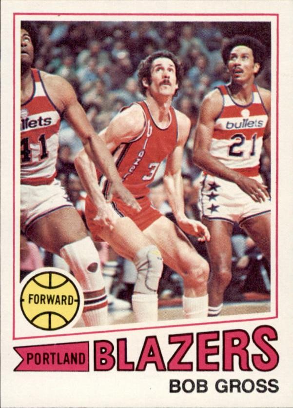 1977-78 Topps #11 Bob Gross RC