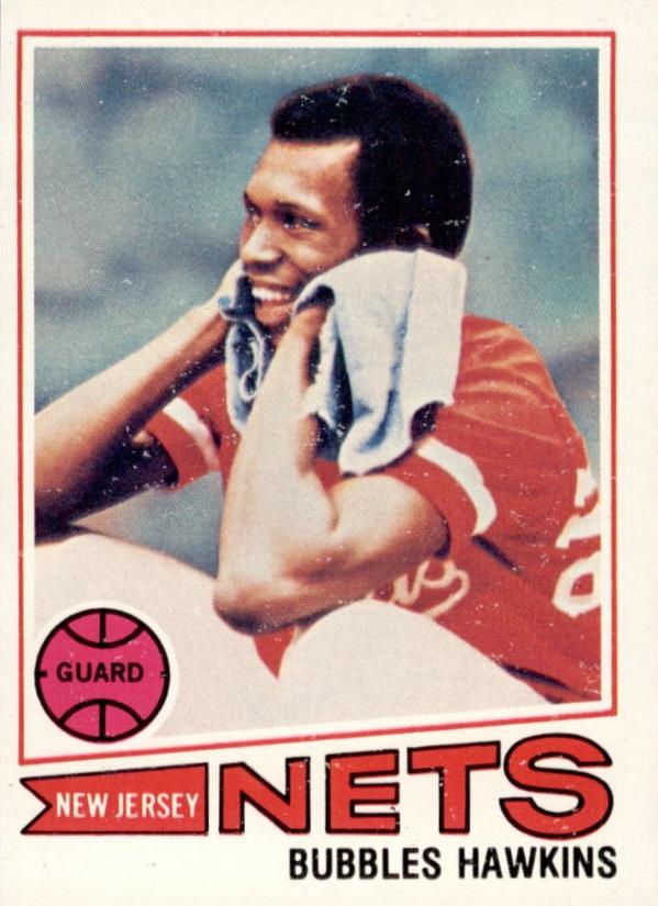 1977-78 Topps #22 Bubbles Hawkins