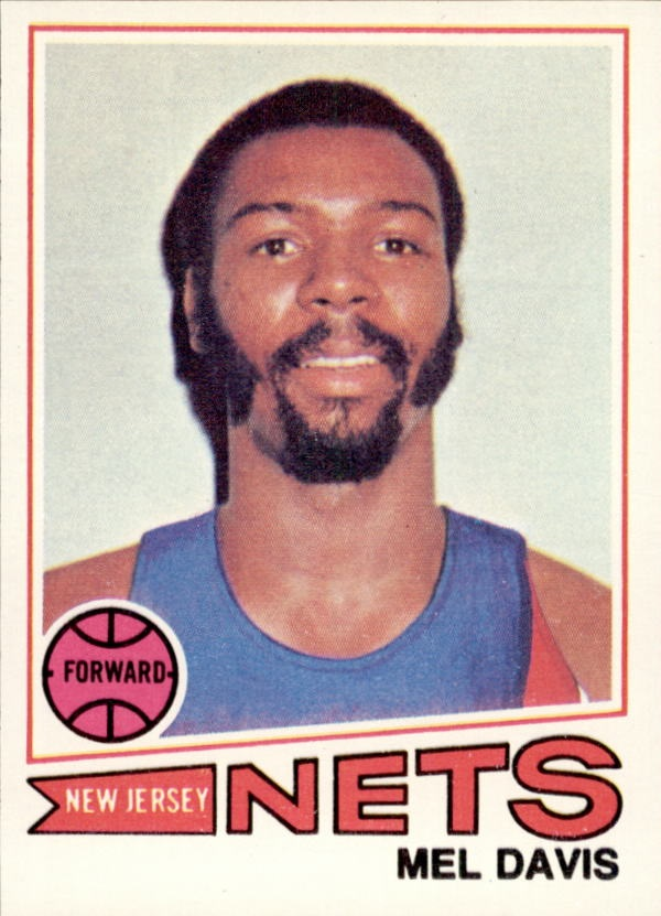 1977-78 Topps #38 Mel Davis