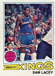 1977-78 Topps #49 Sam Lacey