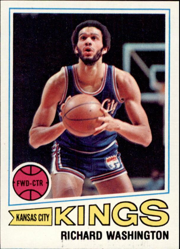 1977-78 Topps #78 Richard Washington RC