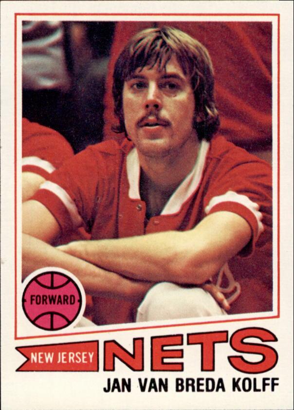 1977-78 Topps #109 Jan Van Breda Kolff