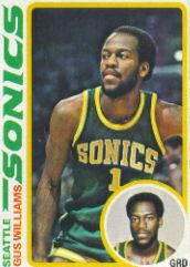 1978-79 Topps #39 Gus Williams