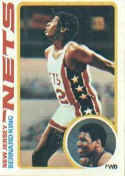 1978-79 Topps #75 Bernard King RC