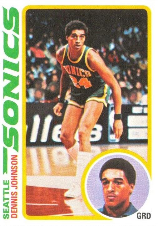 1978-79 Topps #78 Dennis Johnson RC
