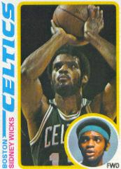 1978-79 Topps #109 Sidney Wicks