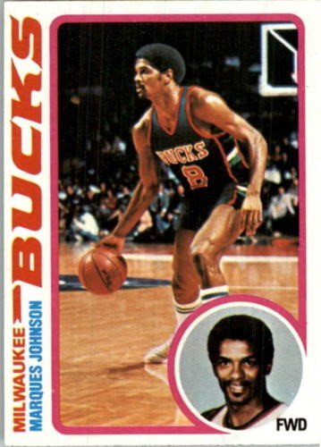 1978-79 Topps #126 Marques Johnson RC
