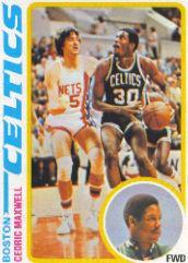 1978-79 Topps #128 Cedric Maxwell RC