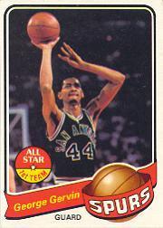 1979-80 Topps #1 George Gervin !