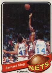 1979-80 Topps #14 Bernard King