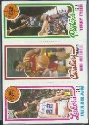 1980-81 Topps #43 132 K.Abdul-Jabbar TL/56 Mike Mitchell/81 Terry Tyler TL