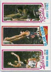 1980-81 Topps #132 135 Kareem Abdul-Jabbar/253 John Shumate SD/167 Larry Demic