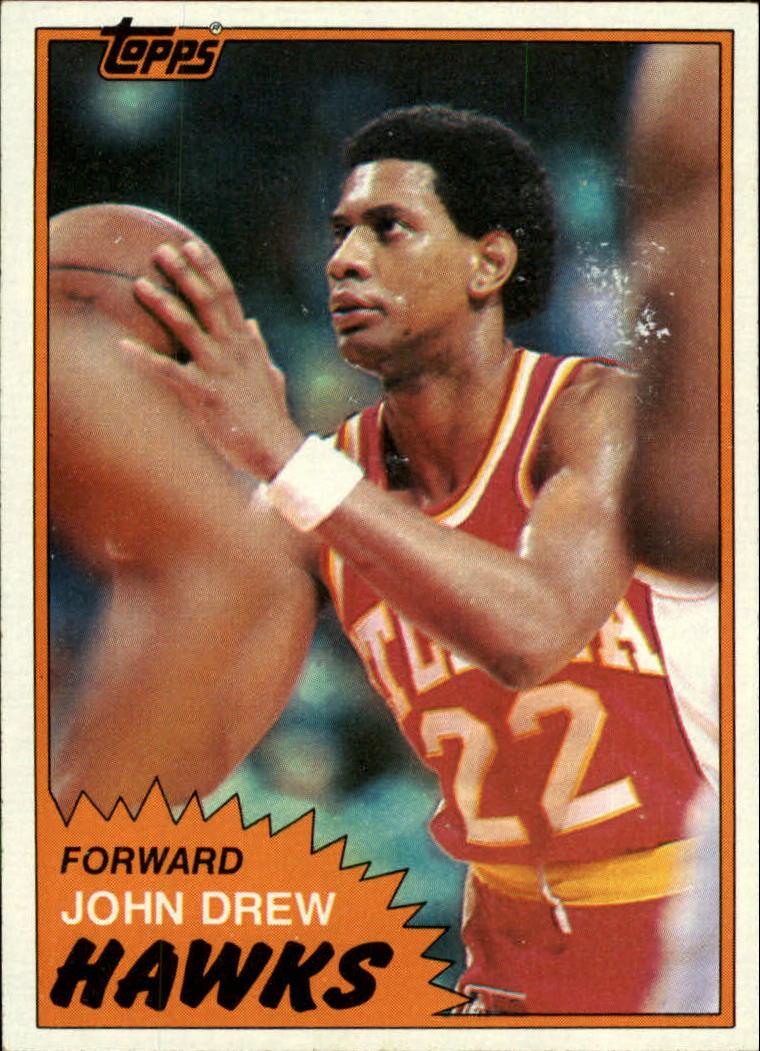 1981-82 Topps #1 John Drew