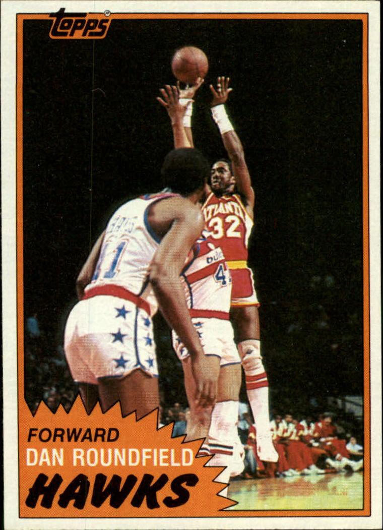 1981-82 Topps #2 Dan Roundfield