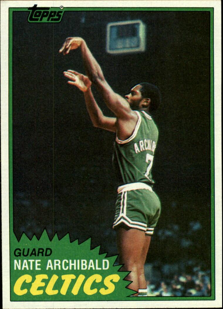 1981-82 Topps #3 Nate Archibald
