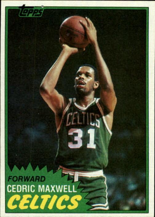 1981-82 Topps #5 Cedric Maxwell