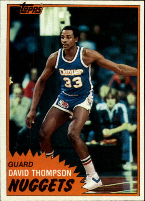 1981-82 Topps #12 David Thompson